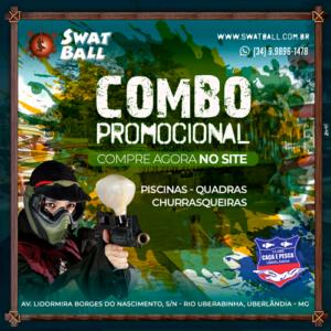 Combo De Verão Paintball + Clube