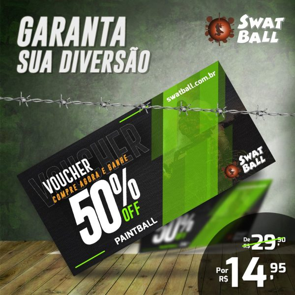 voucher swat ball 50 %
